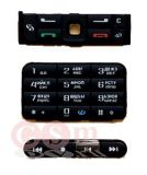 Клавиатура Nokia 3250 комплект black (черный)
