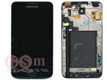 Дисплей Samsung N7000/i9220 Galaxy Note мдуль в сборе (черный) (GH97-12948A) ОРИГИНАЛ 100%