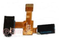 Шлейф Samsung C6712 на разъем гарнитуры с динамиком