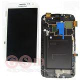 Дисплей Samsung N7100 Note 2 модуль (белый) GH97-14112A ОРИГИНАЛ 100%