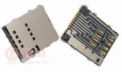 Коннектор SIM Samsung S5250/P5100/P6800/P6810