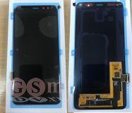 Дисплей Samsung A530F A8 2018 с тачскрином (черный) ОРИГИНАЛ 100%