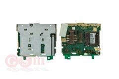 Подложка клавиатуры Sony Ericsson C510 держателем SIM и ММС ОРИГИНАЛ